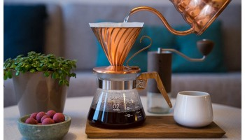 Способ приготовления кофе - V-60