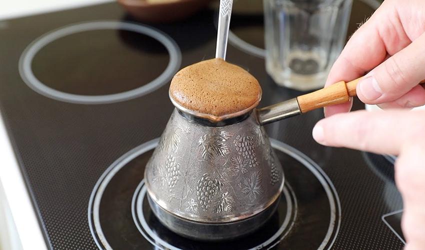 Способ приготовления кофе - в турке
